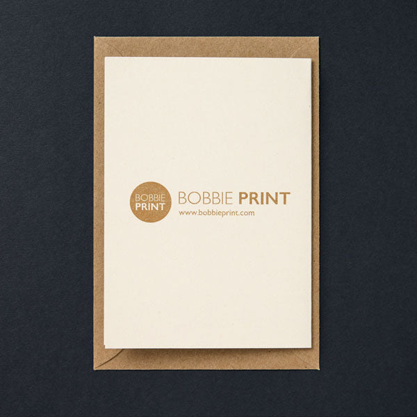 Greeting cards bobbie print little otters greeting card 250 m4hsunfo