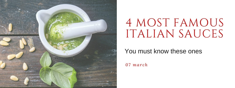 Most famous italian sauces