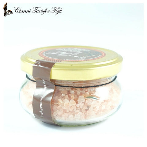 HIMALAYAN PINK SALT WITH DRIED SUMMER BLACK TRUFFLE - CIANNI TARTUFI