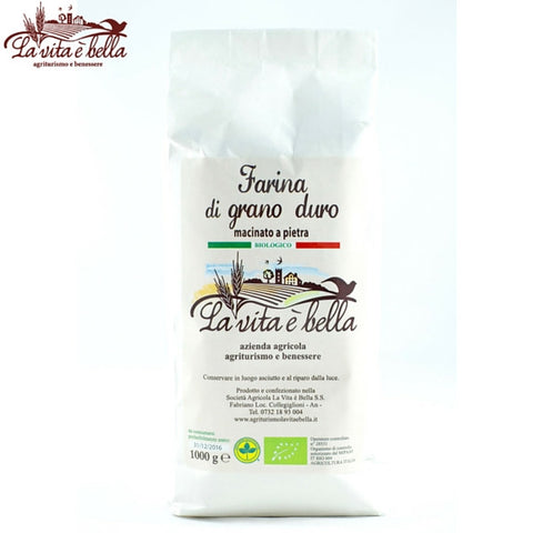 WHEAT DURUM FLOUR (BIO) - 1kg