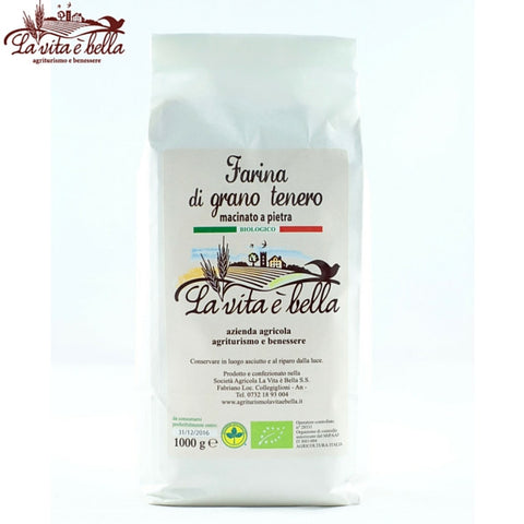 SOFT WHEAT FLOUR (BIO) - 1kg