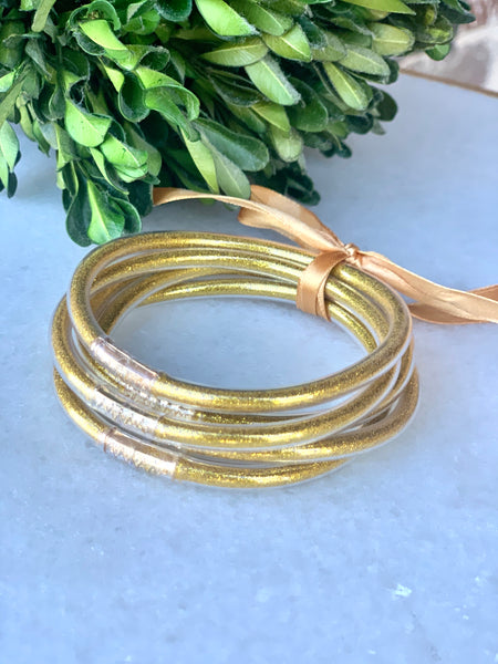 Zen Gold Bangle Set