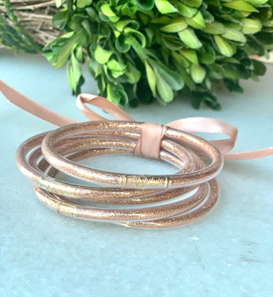 Rose Zen Bangle