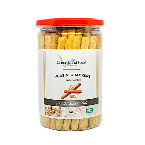 Grissini Crackers with Sesame