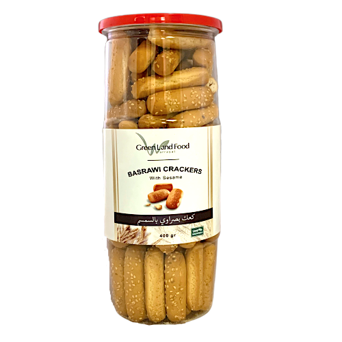 Basrawi Crackers with Sesame