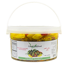 Spicy Green Olives - 1.75 Lb