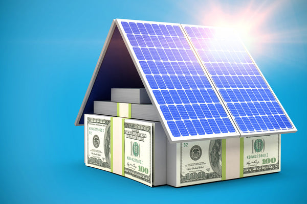 DIY home solar power