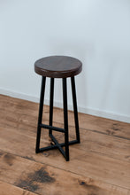 Round Swivel Bar Stool - Miller & Co. Wood Studio