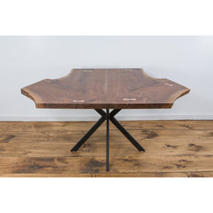 Black Walnut Kitchen Table - Miller & Co. Wood Studio