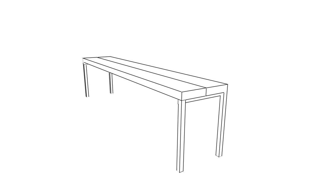 Straight Base Bench - Coming Soon! - Miller & Co. Wood Studio