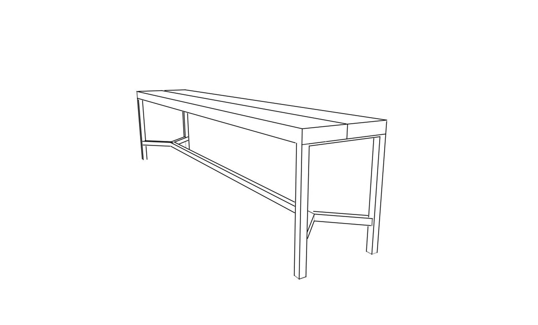 Y Base Bench - Coming Soon! - Miller & Co. Wood Studio