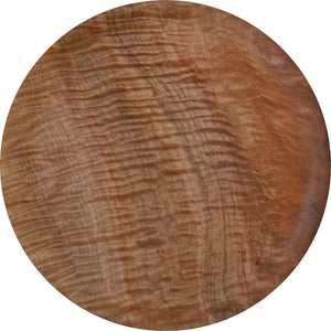 Curly Maple Plate - Miller & Co. Wood Studio