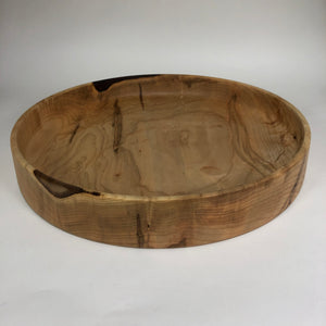 Wormy Maple Platter - Miller & Co. Wood Studio