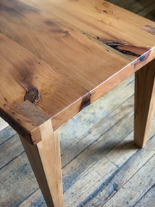 Reclaimed Pine Dining Table - Miller & Co. Wood Studio