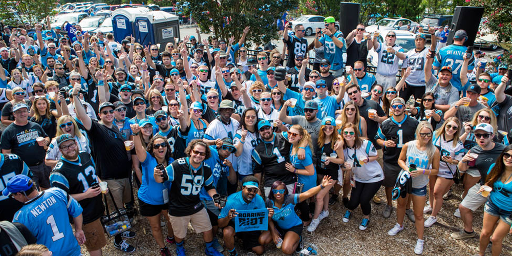 Image result for panthers tailgate