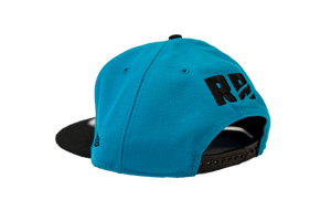 Blue Scratch New Era 5950 Snapback Cap