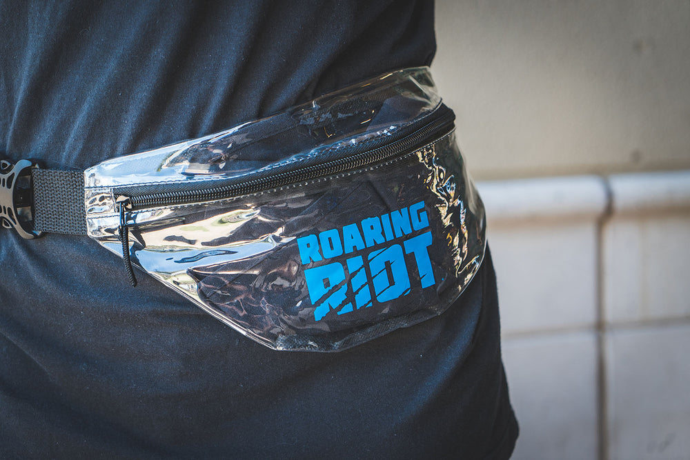 Clear Game Day Fanny Pack
