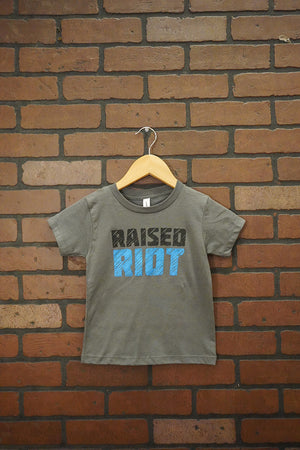 Raised Riot Toddler Shirt