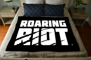 Roaring Riot Plush Throw