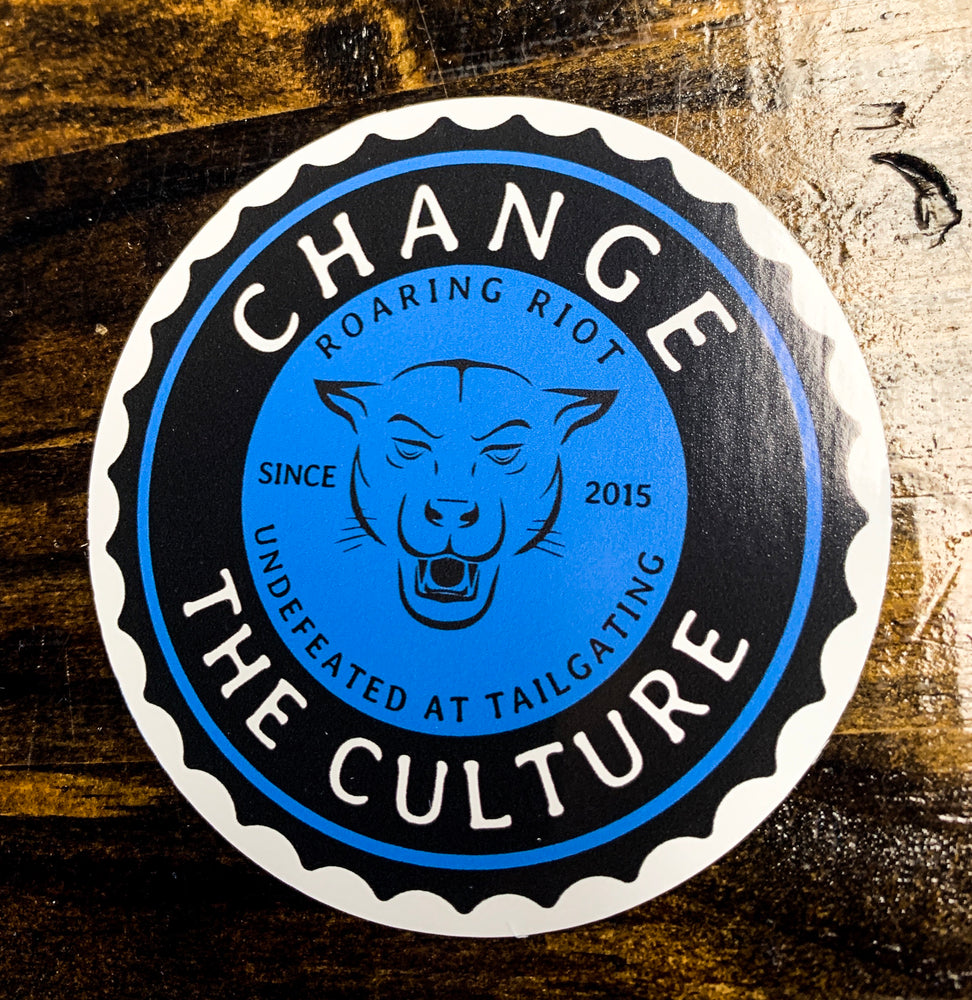Change the Culture Sticker