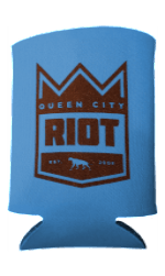 Queen City Riot / Roaring Riot Koozie