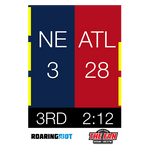 Super Bowl 51 Scoreboard Rally Towel