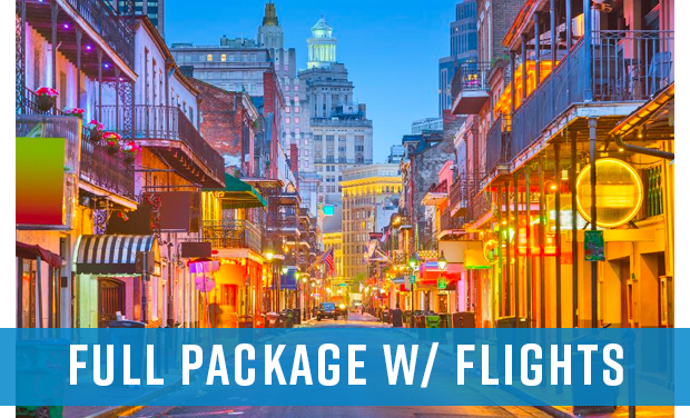 2020 Big Easy Takeover - Flight Package