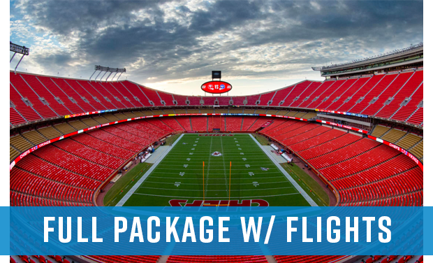 2020 Arrowhead Takeover - Flight Package