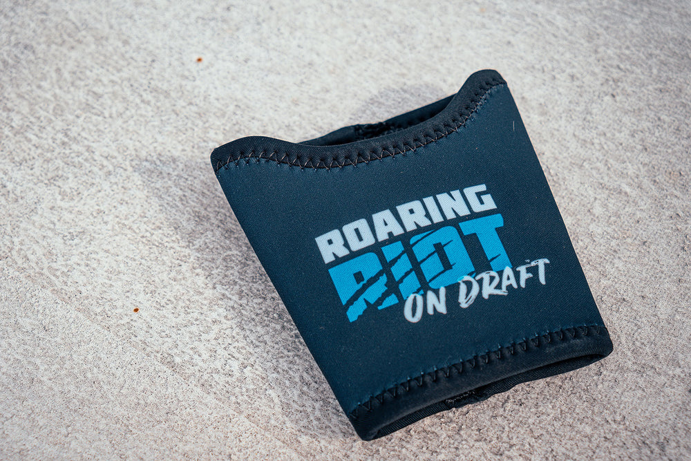 Roaring Riot On Tap Pint Glass Koozie