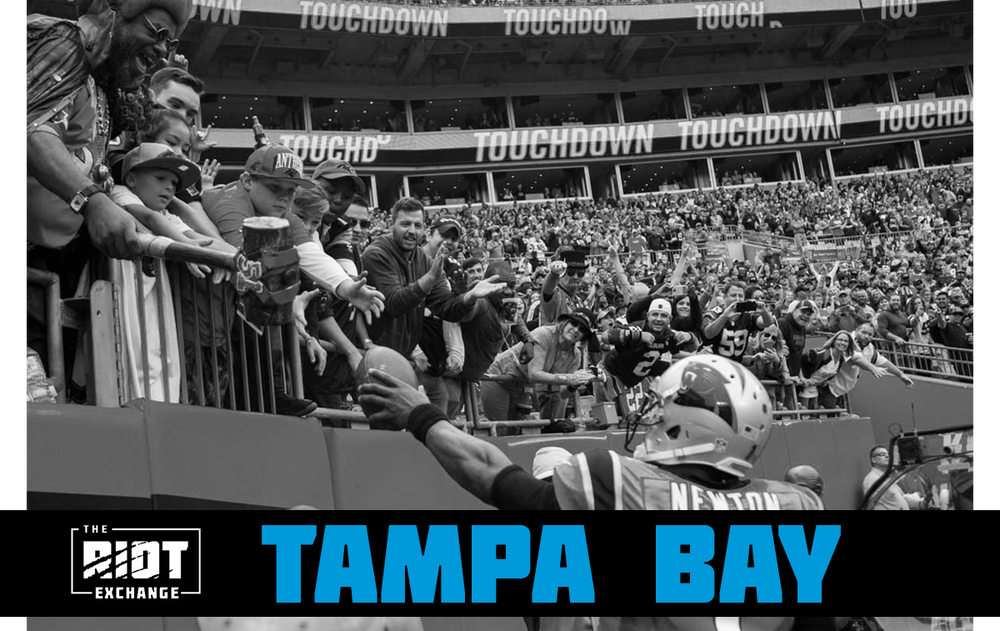 Roaring Riot Ticket Block - Tampa Bay