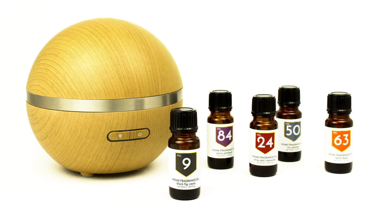 ACDC Ultrasonic Aromatherapy Diffuser and Scented Diffuser Oils