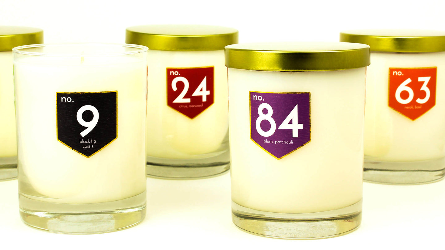 ACDC Co Digits Collection Scented Soy Wax Candles