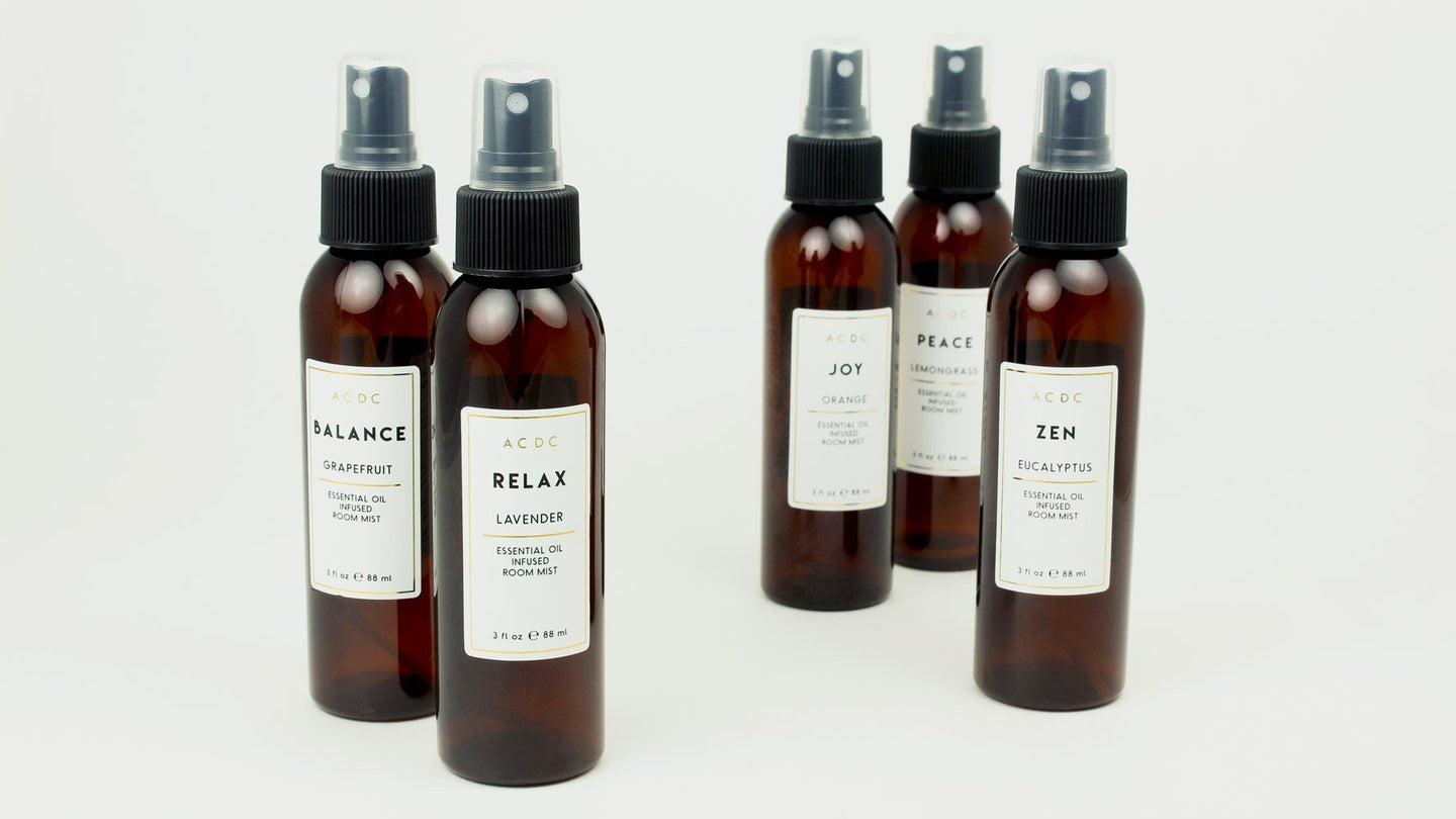Essential Oil Room Mists | A C D C