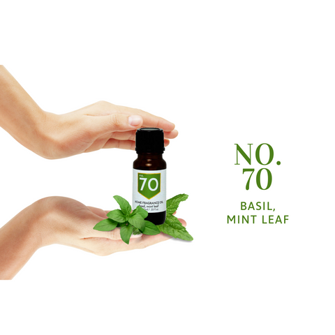 No 70 Basil Mint Leaf Home Fragrance Oil