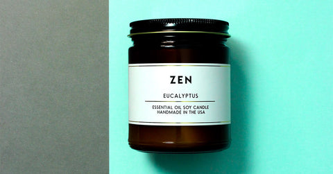 acdc co aromatherapy zen eucalyptus essential oil scented soy wax candles