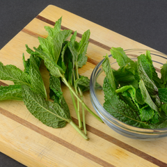Fresh Mint used in No 70 Basil Mint Home Fragrance