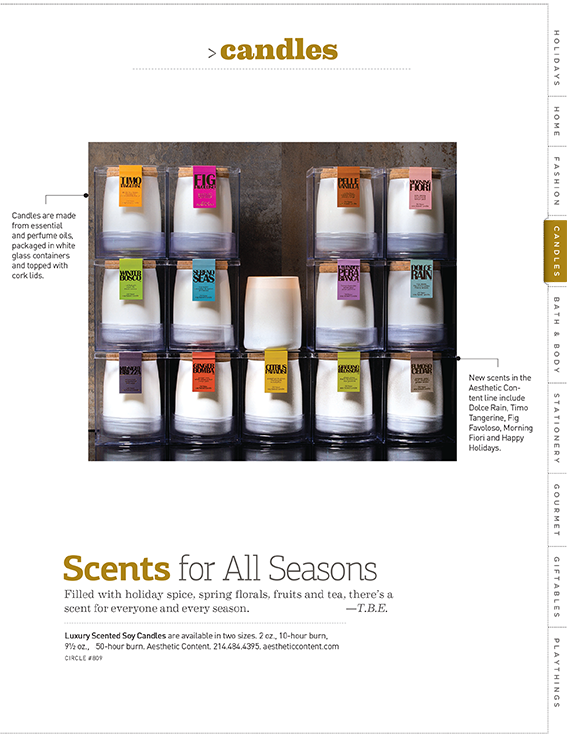 ACDC Candles in Gifts and Decorative Accessories Magazine
