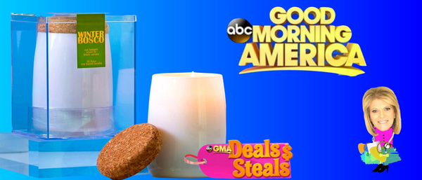 Aesthetic Content Candles on GMA Deals and Steals