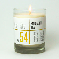acdc mandarin orange tea scented soy wax candles
