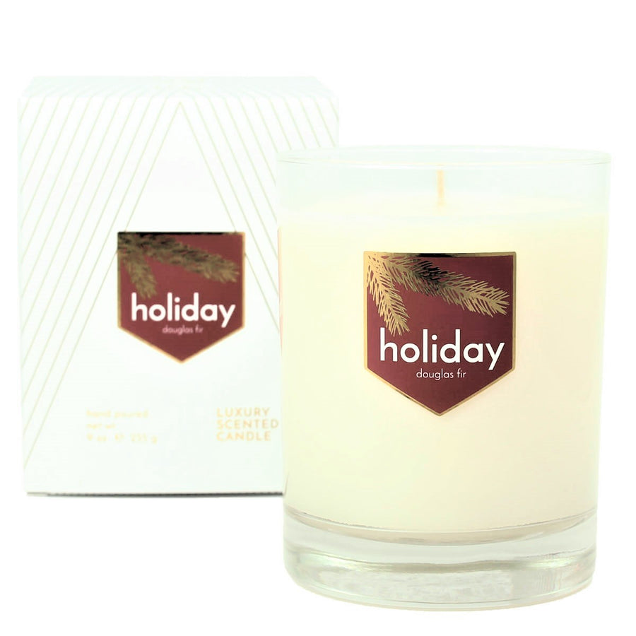 Holiday Douglas Fir Pine Tree Scented Soy Wax Candle - ACDC Co