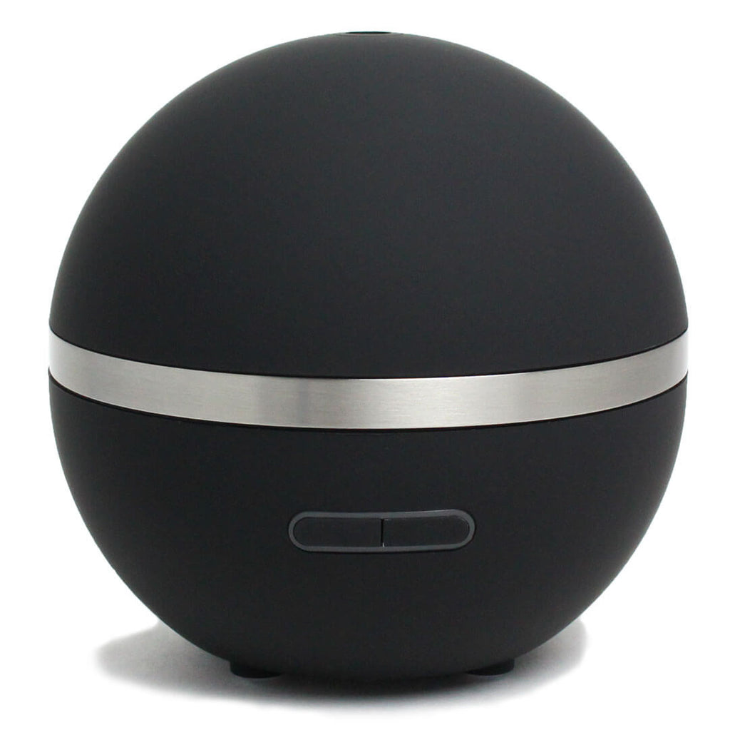 Round Black Electric Ultrasonic Aromatherapy Diffuser