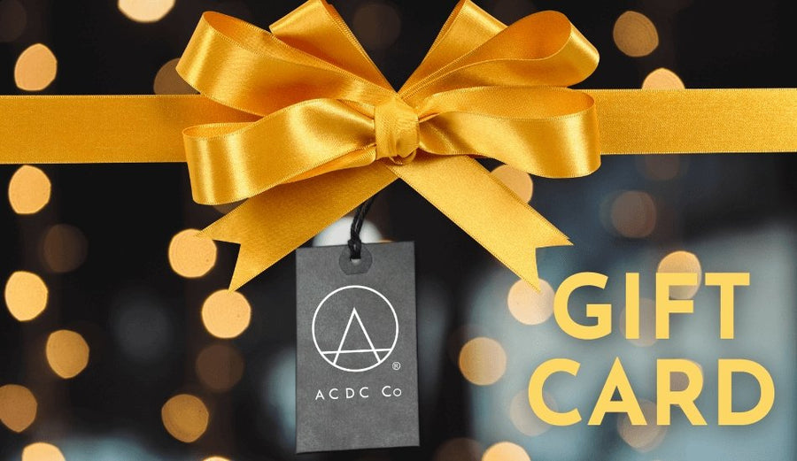 Select the Amount Gift Card - ACDC Co