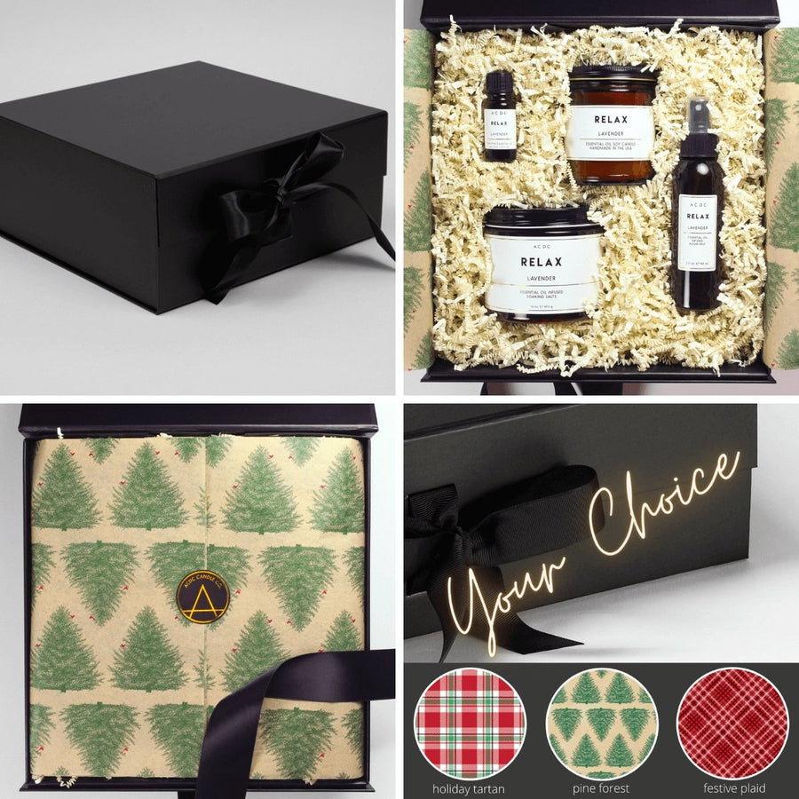 Apothecary 4 Piece Aromatherapy Gift Box - ACDC Co