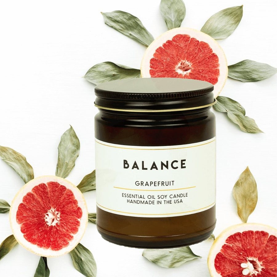 Balance Grapefruit Essential Oil Aromatherapy Candle - ACDC Co