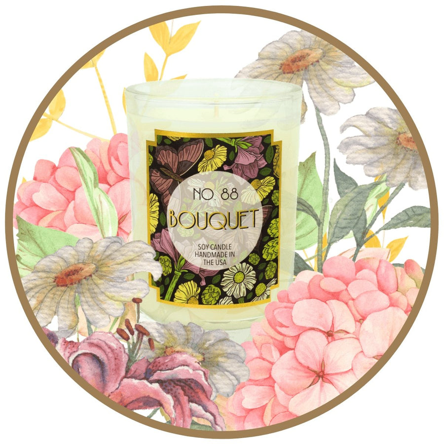 Bouquet Scented Soy Wax Candle - A C D C