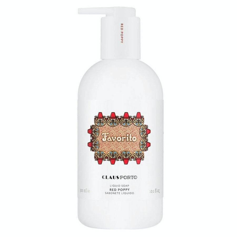 Claus Porto Favorito Red Poppy Liquid Soap - ACDC Co