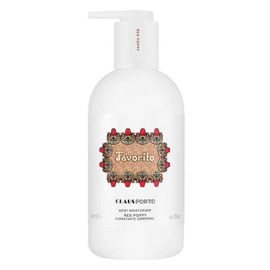 Claus Porto Favorito Red Poppy Moisturizing Lotion - ACDC Co