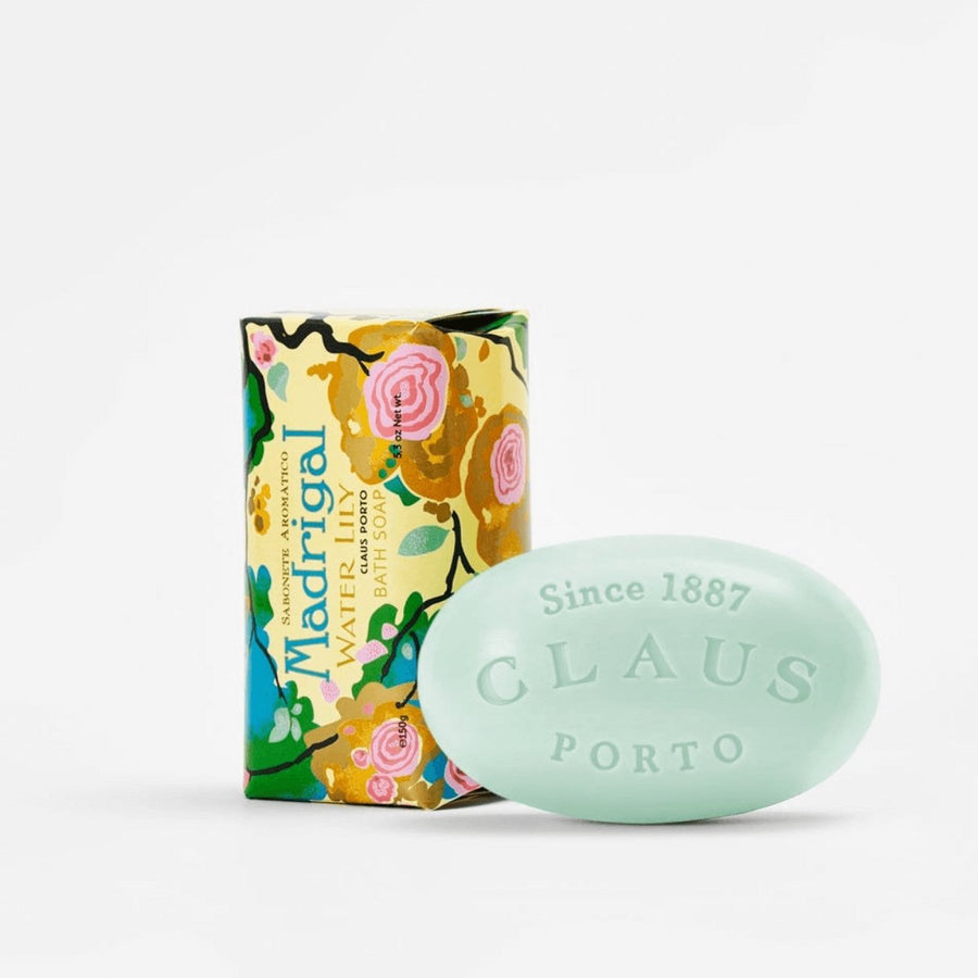 Claus Porto Madrigal Water Lily Soap Bar - ACDC Co