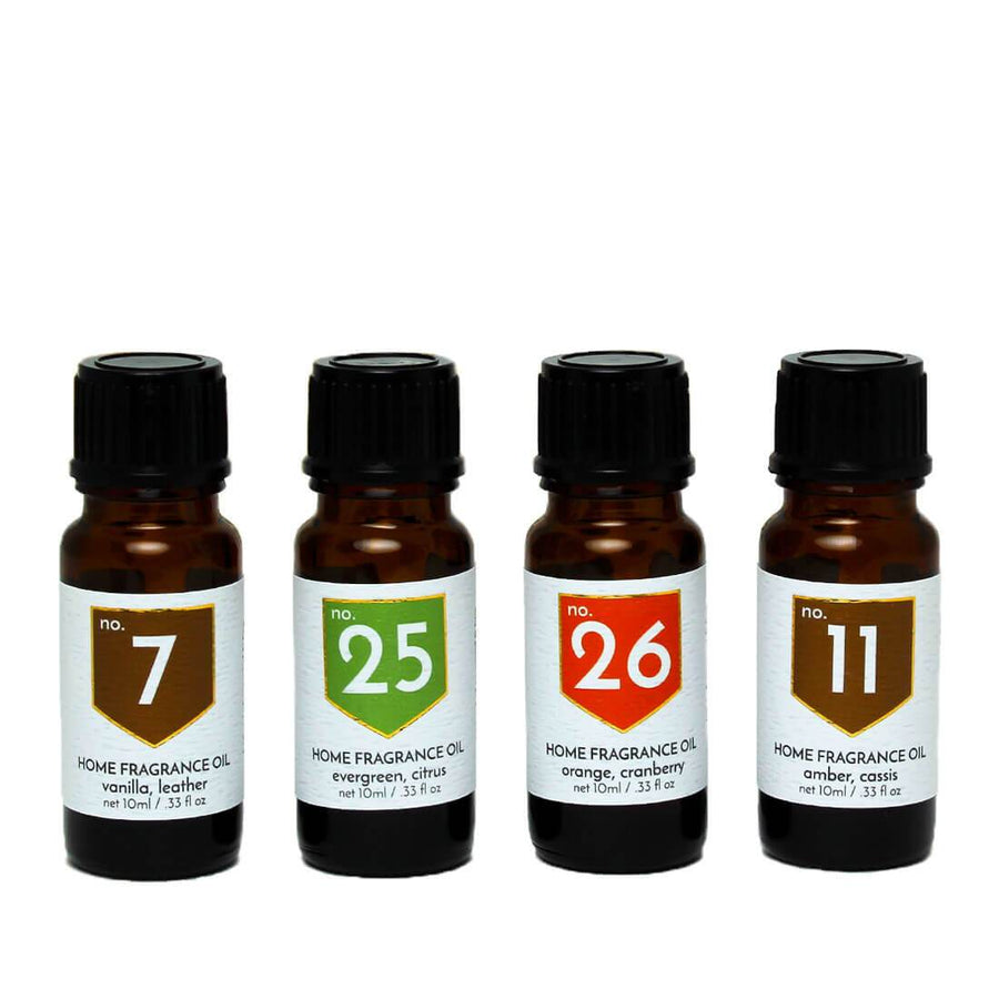 Festive Scented Home Fragrance Diffuser Oils Gift Set - A C D C