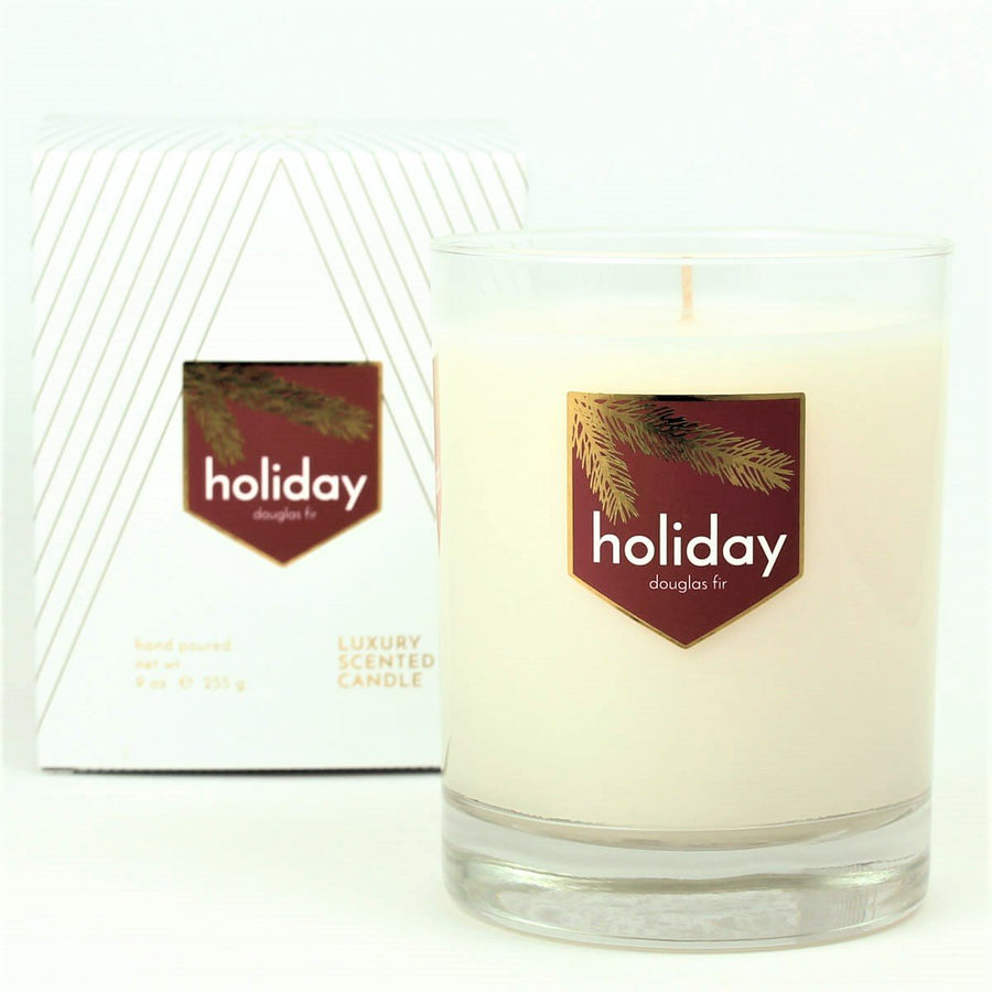 Holiday Douglas Fir Scented Soy Candle - ACDC Co